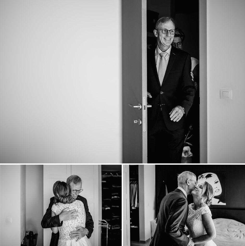 Zuiver Fotografie© Trouwreportage Bruiloft Salons van Edel Antwerpen